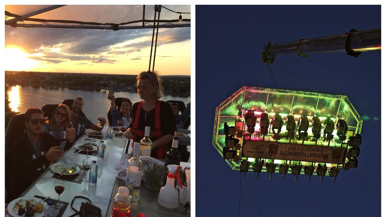 Have Dinner In The Sky In Montreal In August 2021