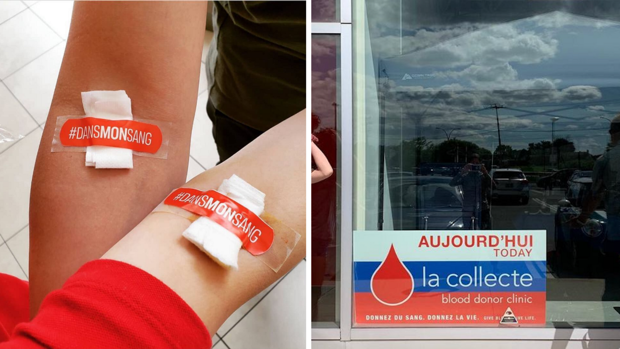 Héma-Québec Put Out A Call For Plasma & Now People Are Calling The Organization Homophobic