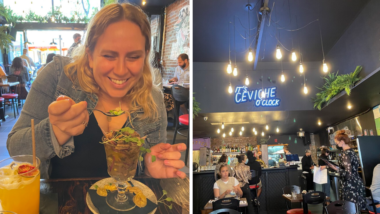 I Tried Montreal's New Peruvian Brunch Spot & Fell In Love With Ceviche As Breakfast