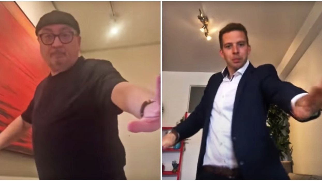 Dr. Arruda's Viral 'Confinement' Dance Is Getting Completely Rejected (VIDEO)