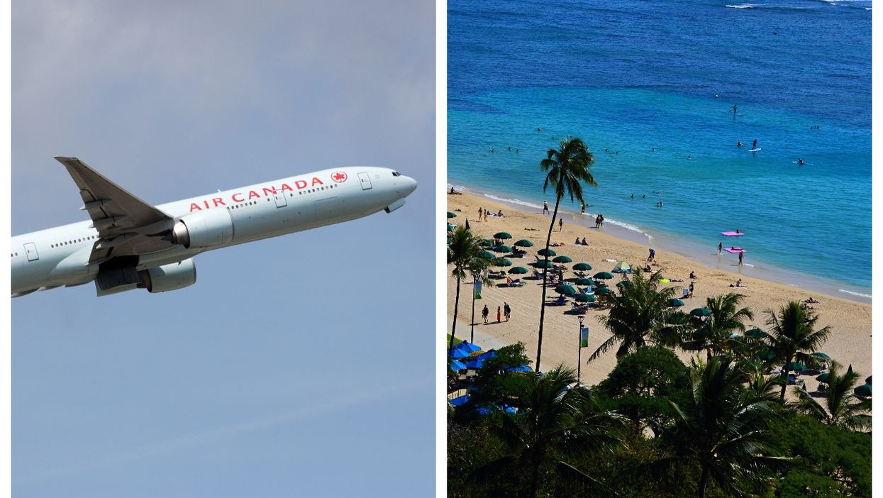 Air Canada Is Launching Direct Flights From Montreal To Hawaii This Winter