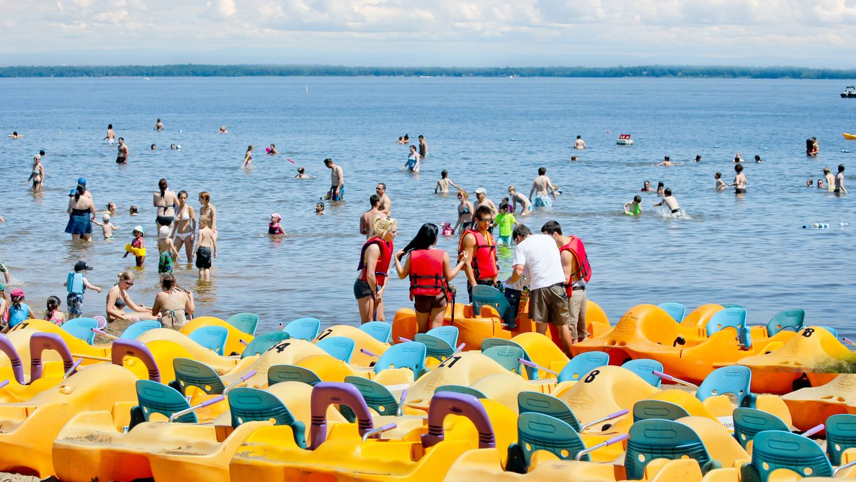 Oka Beach Reduced Its Capacity By 85% Today After Evacuating Masses Of Rule Breakers