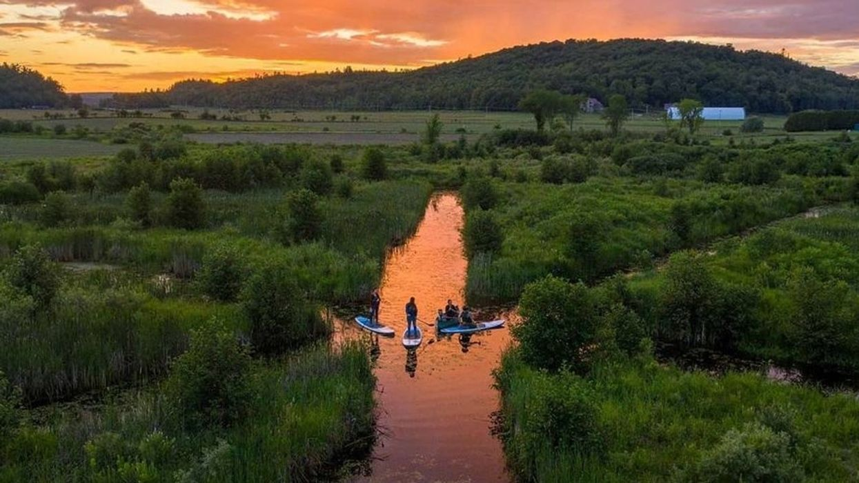 You Can Paddleboard Into The Sunset At This Water Maze Only 2 Hours From MTL