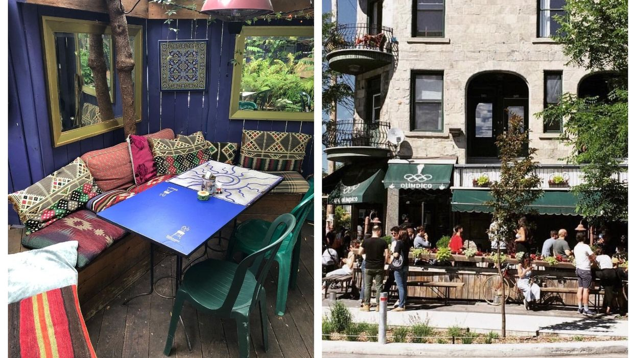 Here Are Some Montreal Cafés With Terrasses That Are Reopening On May 28