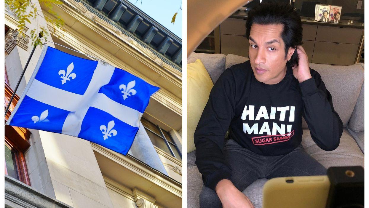 Sugar Sammy Roasted The Parti Québécois For Its Motion To Create A Quebec Flag Emoji