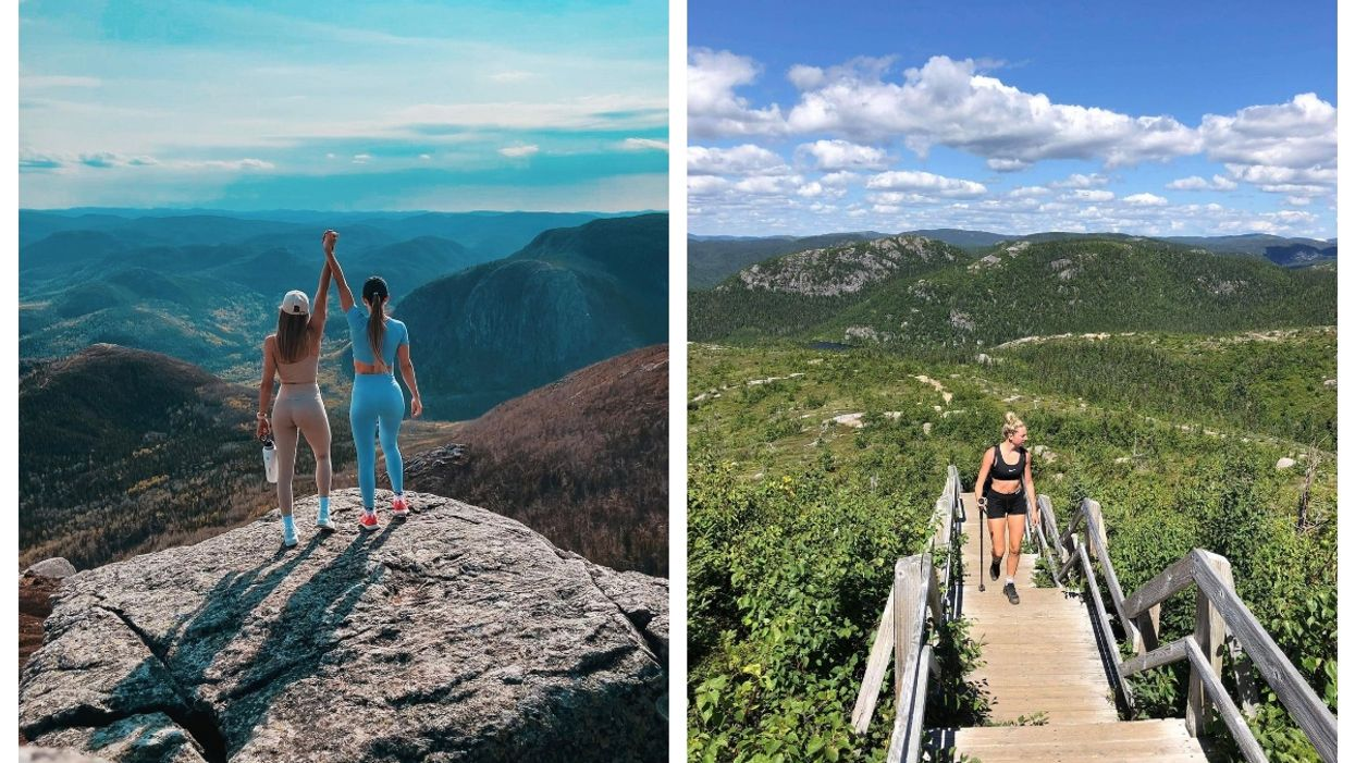 This Quebec Hike Takes You Up Nearly 1,000 m In Altitude & Is 1,000% Worth The Road Trip