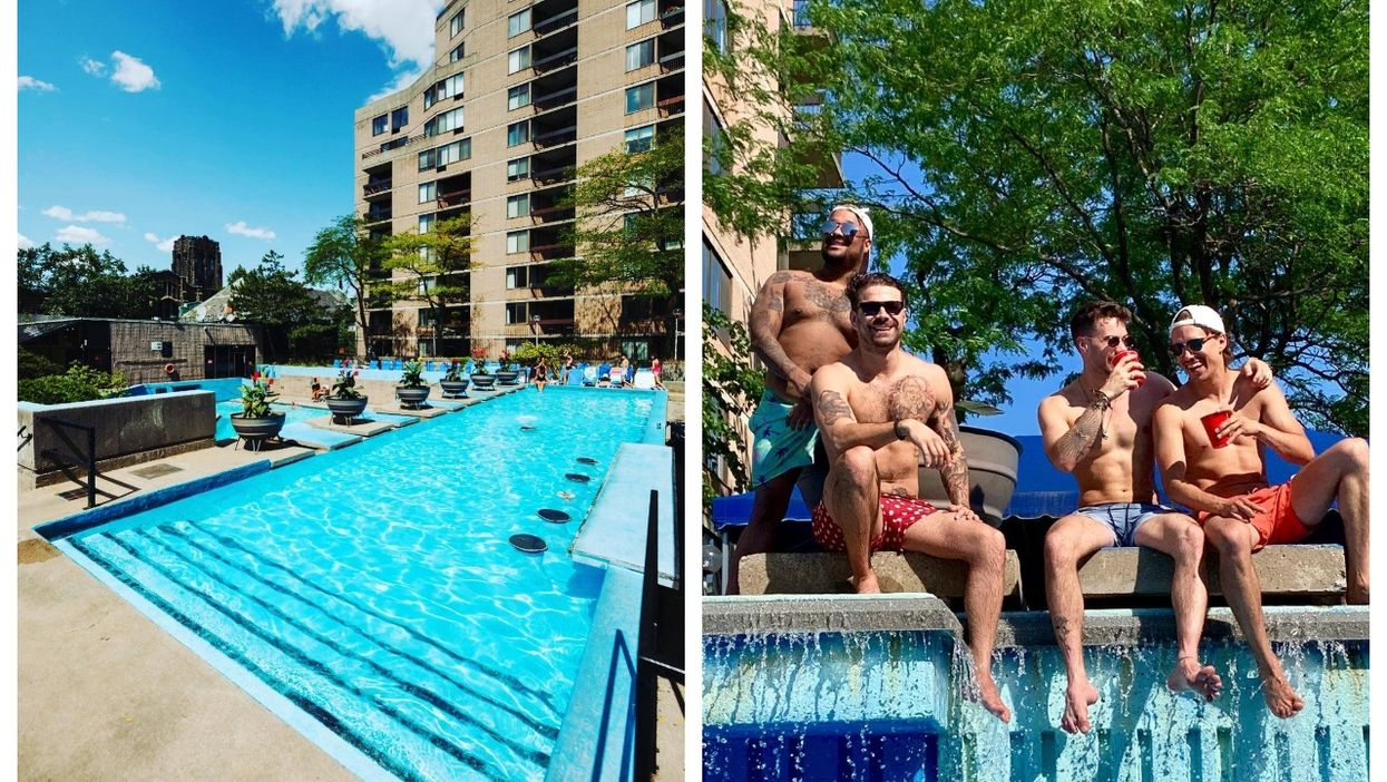 This Downtown Montreal Rooftop Pool Feels Like A Tropical Resort