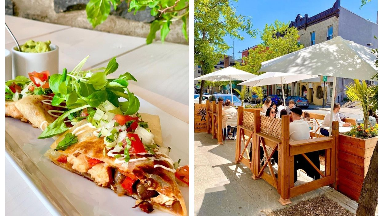 This Montreal Mexican Restaurant's Terrasse Is A Perfect Spot To Have Brunch In The Sun