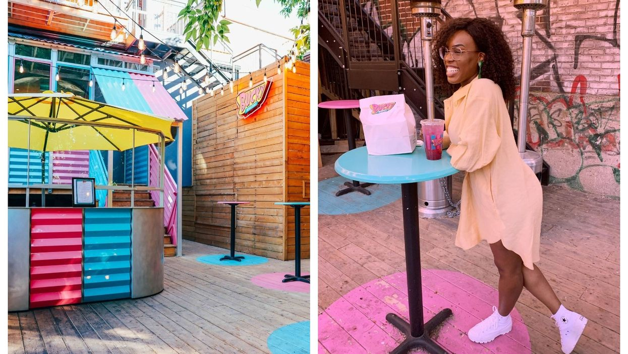 You Can Eat Fried Chicken By The Bucket At This Hidden Terrasse In Montreal