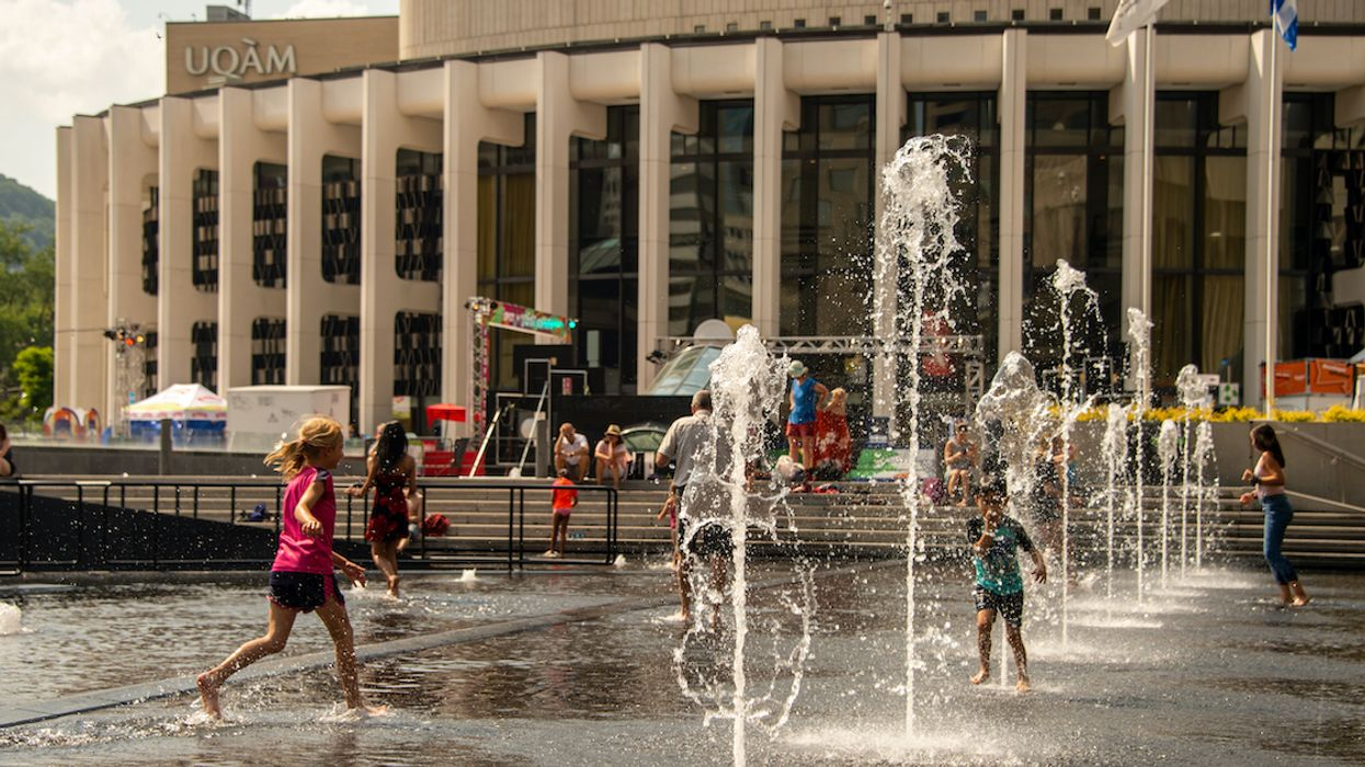 A Heat Warning Is In Effect For Montreal & It's About To Get HOT