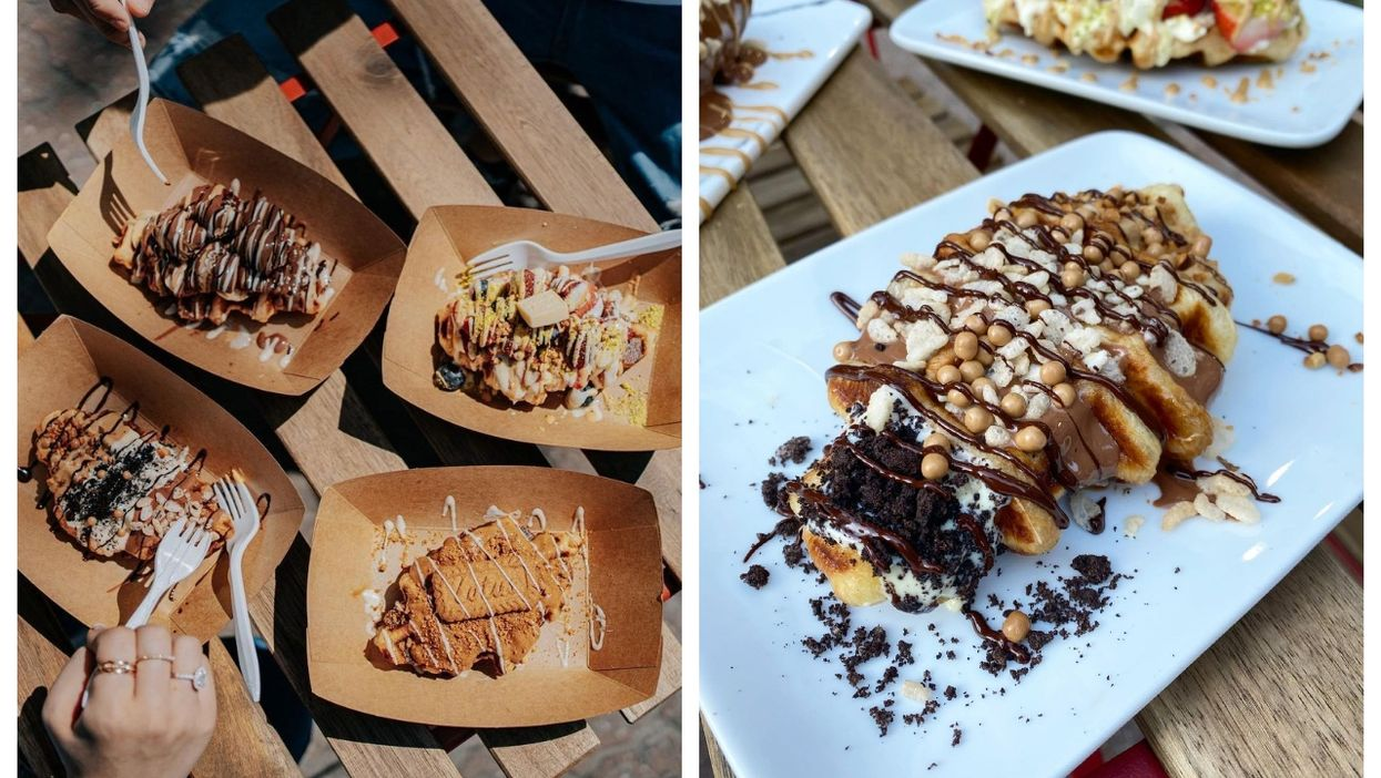 A Montreal Dessert Spot Now Serves 'Croffles' & They're A Combo Of 2 Carbolicious Treats