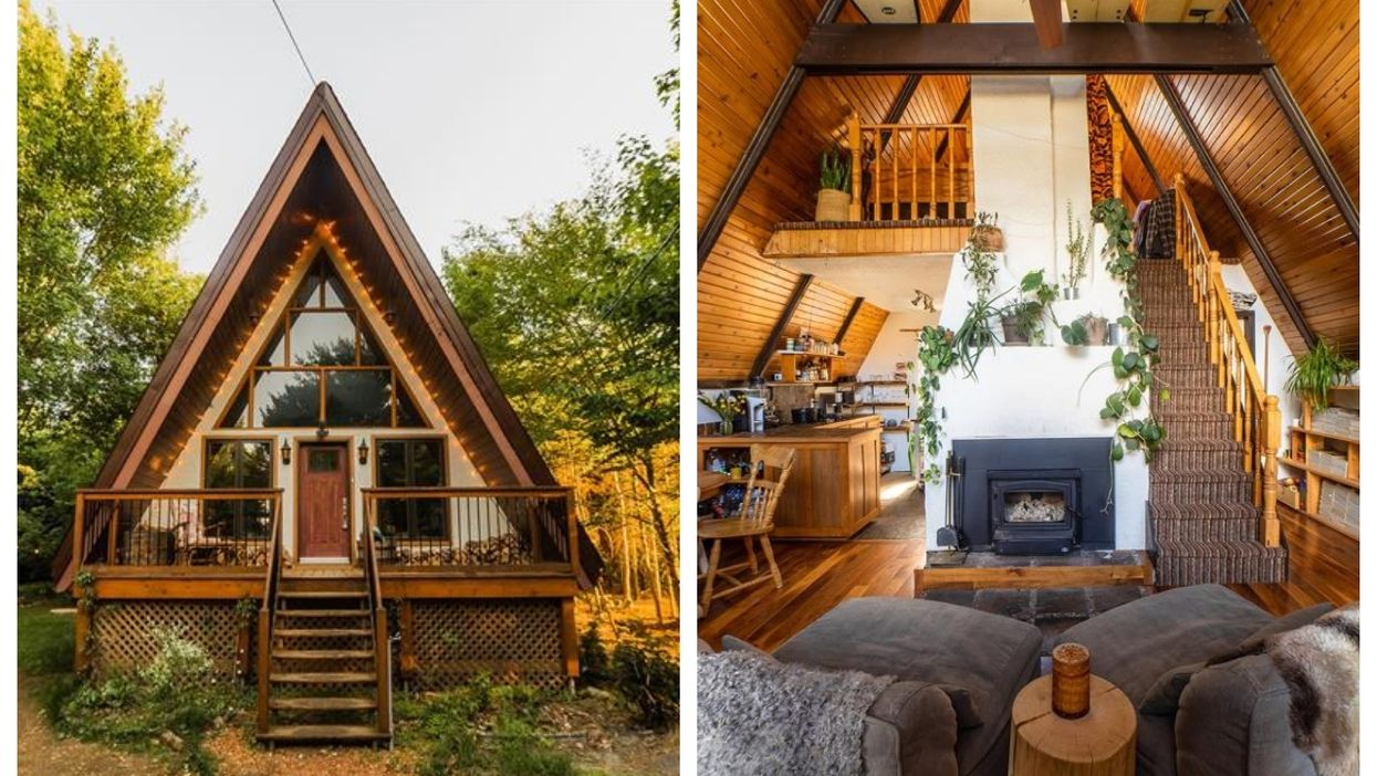 This Rustic-Chic Home For Sale 1 Hour From Montreal Will Make You Want To Leave The City