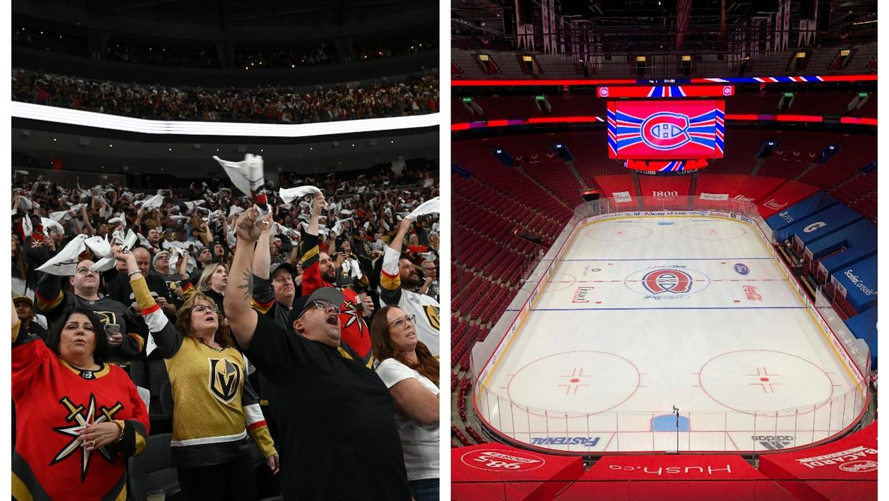 U.S. Hockey Arenas Have No Masks Or Distancing & It's Like Another Planet (PHOTOS & VIDEO)