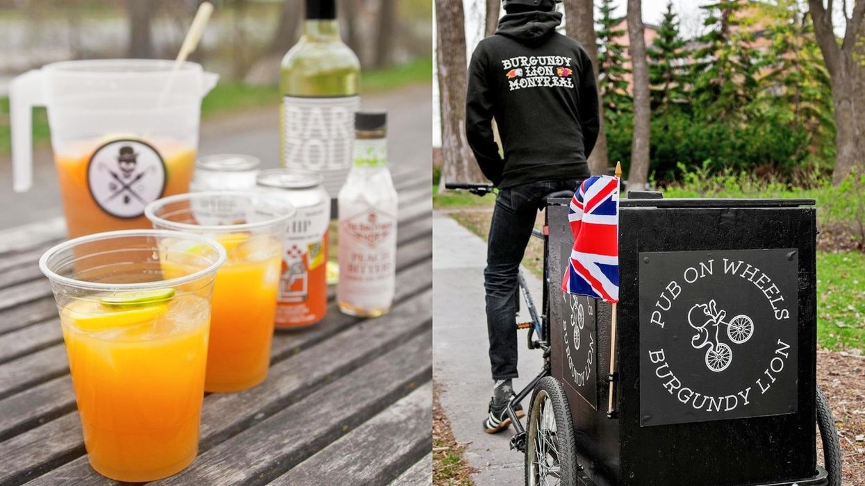 One Of Montrealers' Favourite Bars Is Starting To Offer A 'Pub On Wheels'