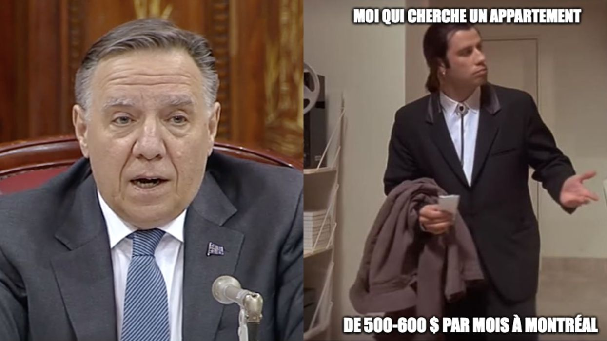 Meme-Makers Are Having A Field Day With Legault's Comments About Montreal Rent