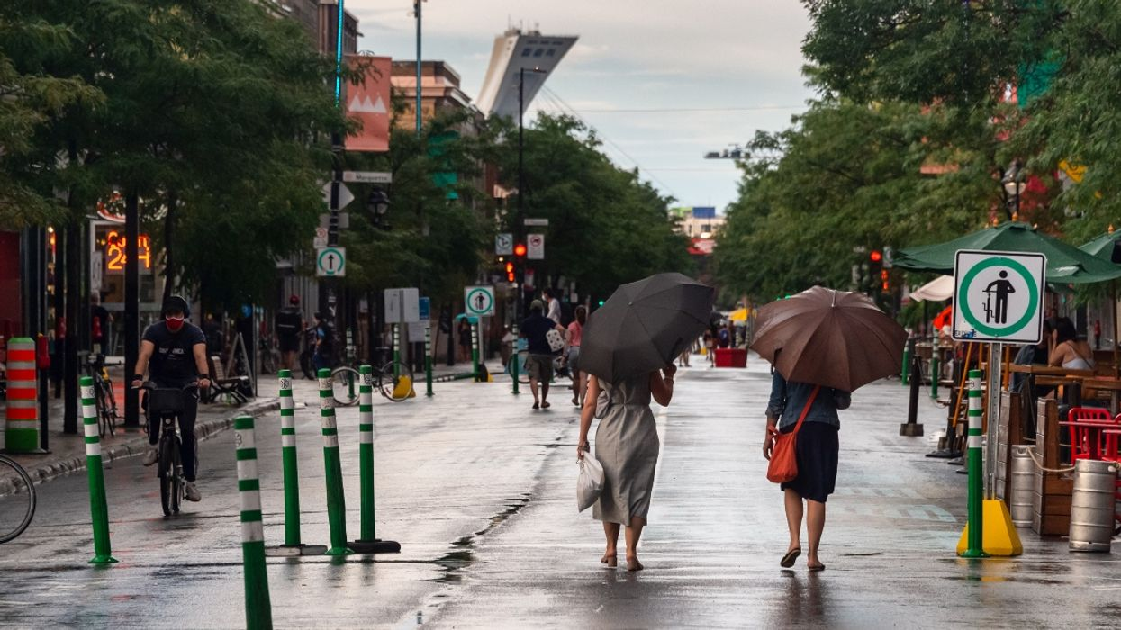Montreal's May Forecast Is Looking Like It'll Be A Bring-Your-Umbrella Everywhere Month
