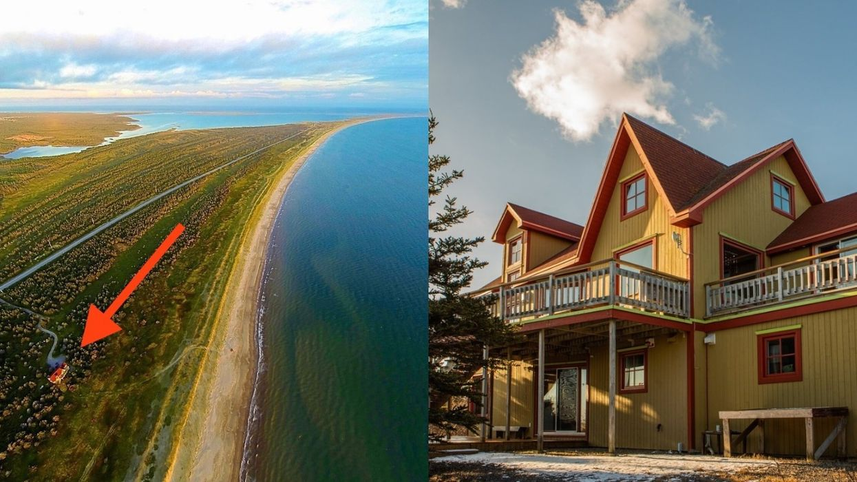 This Jaw-Dropping Quebec Home For Sale Is Totally Isolated Next To A Huge Beach (PHOTOS)