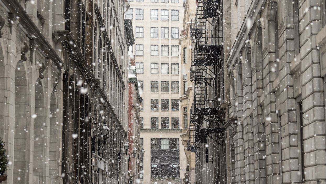 There's A Chance It Could Snow A Little In Montreal Next Week
