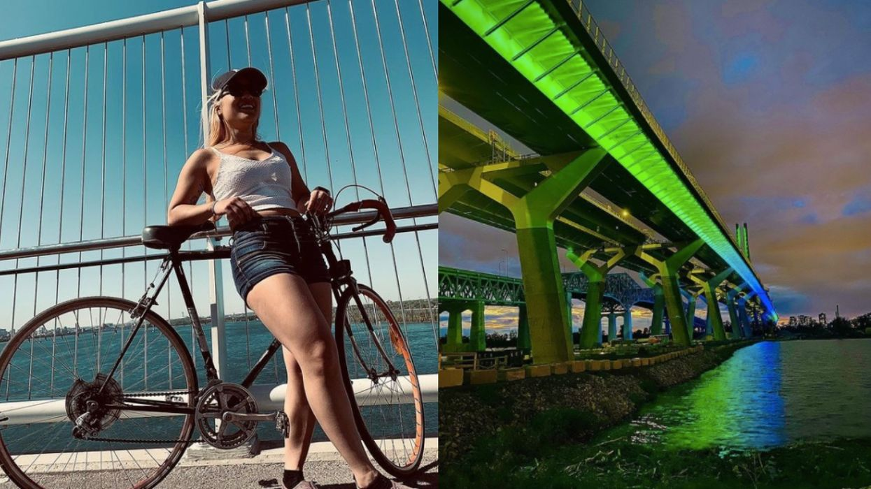 A Bike Path That Lets You Cycle Over The Champlain Bridge & St-Lawrence River Has Reopened