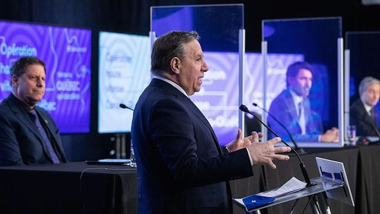 Poll Shows Legault's Handling Of The Pandemic Has Been One Of The Most Popular In Canada