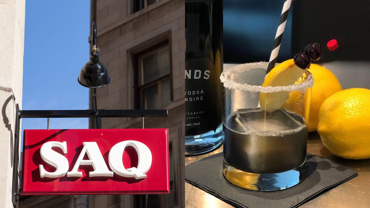 Quebecers Can Now Get Black Vodka At The SAQ