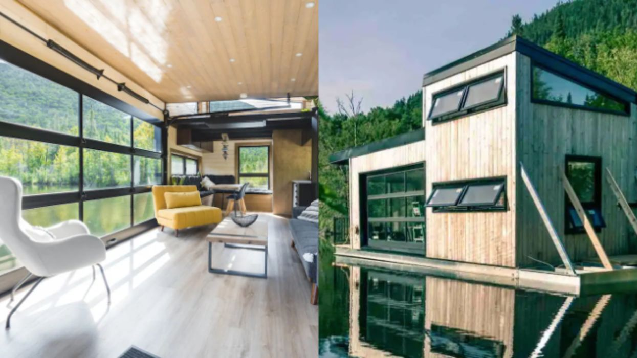 This Floating Airbnb Near Quebec City Takes A Stay On The Water To Another Level (PHOTOS)
