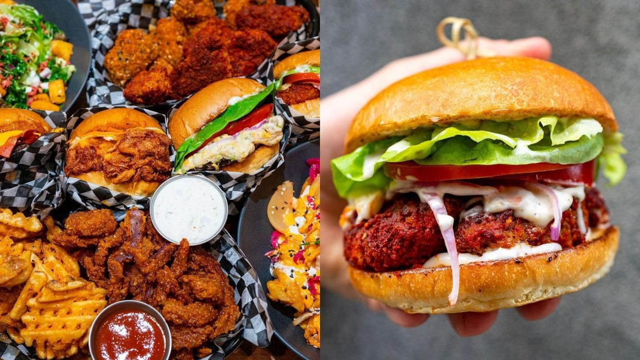 You Can Get Vegan Fried Chicken That Looks Real At This New Montreal Restaurant