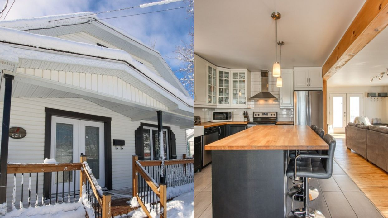 This Freshly Renovated 3-Bedroom Home Is An Hour From Montreal & Costs $199,900