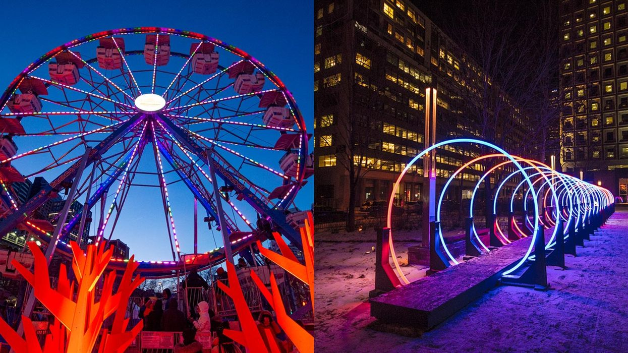 Montréal En Lumière Is Back & Bringing Some Much-Needed Light To The City