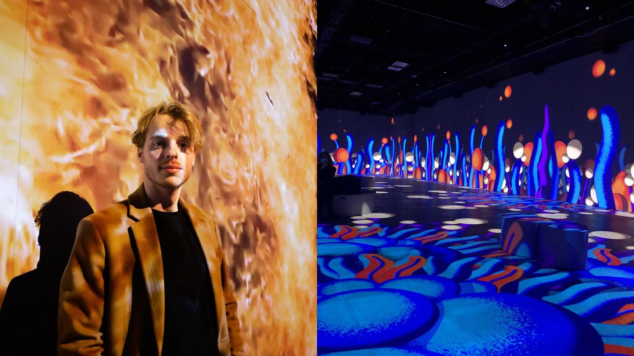 The OASIS Immersion Experience Just Opened In Montreal & It's Trippy AF (VIDEO)