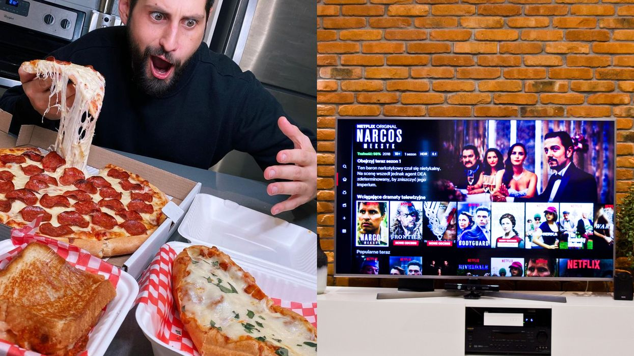 A Company Wants To Pay Someone To Watch Netflix And Eat Pizza & Quebecers Can Apply