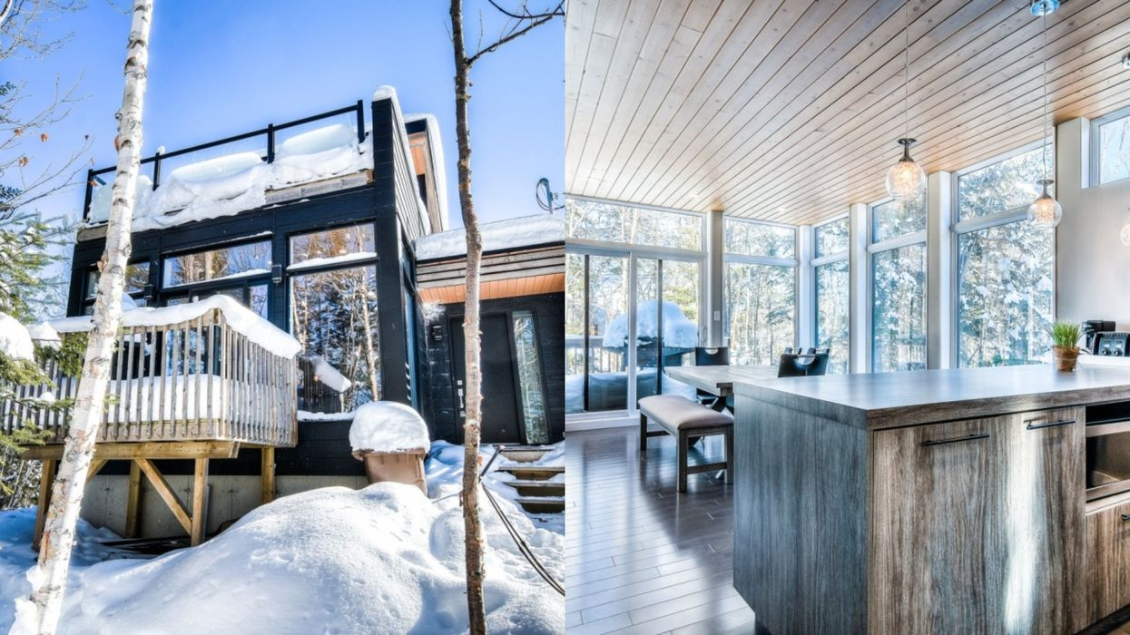 This 3-Bedroom House For Sale In The Laurentians Costs Less Than A Montreal Condo (PHOTOS)