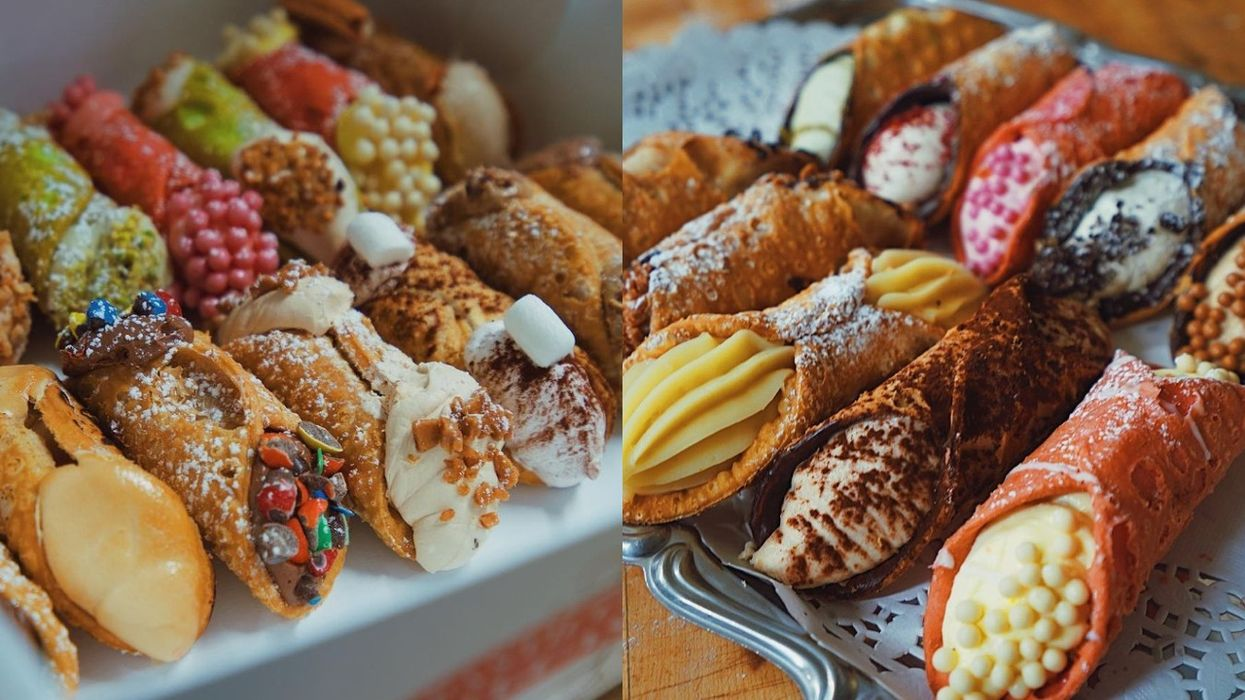 Holy Cannoli! This Little Italy Spot Might Just Make The Prettiest Desserts In Montreal