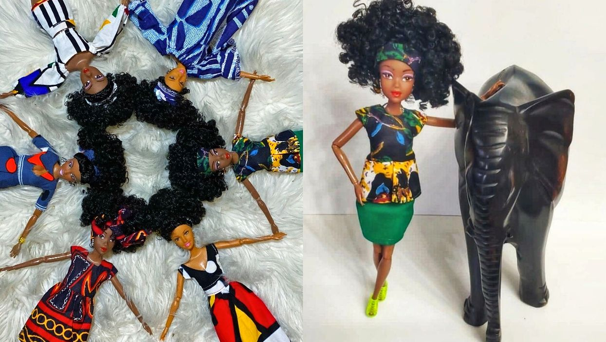 2 Montreal Dads Started A Line Of Black Dolls Inspired By 'African Kingdoms And Empires'