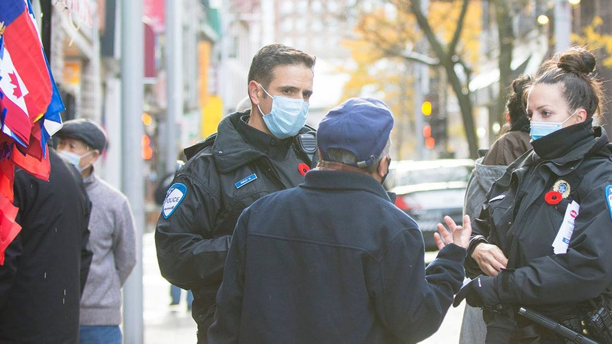 Over 14,000 Montrealers Called The SPVM To Snitch On People Gathering Since April