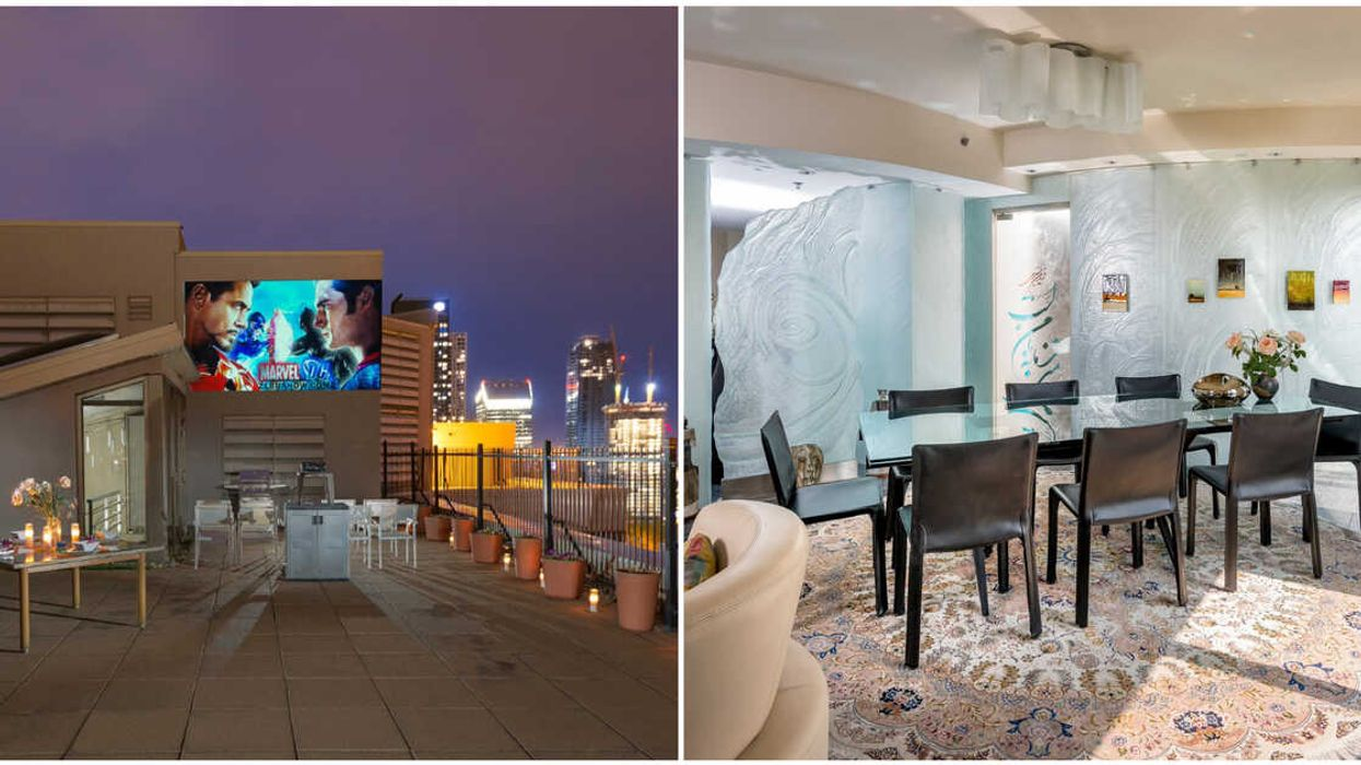 This Penthouse For Sale In Downtown Montreal Has Its Own Outdoor Cinema (PHOTOS)
