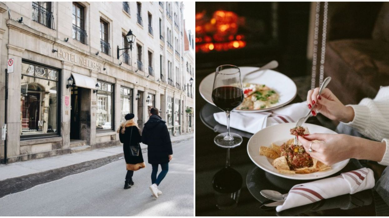 2 Montreal Hotels Found A Way To Let You Experience Indoor Restaurant Dining Again