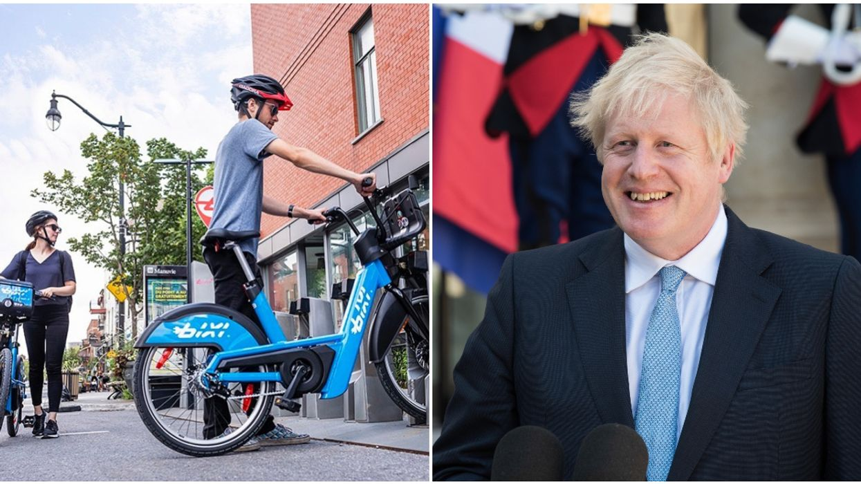 UK Prime Minister Boris Johnson Shared His Love For Montreal BIXIs In A Call With Trudeau