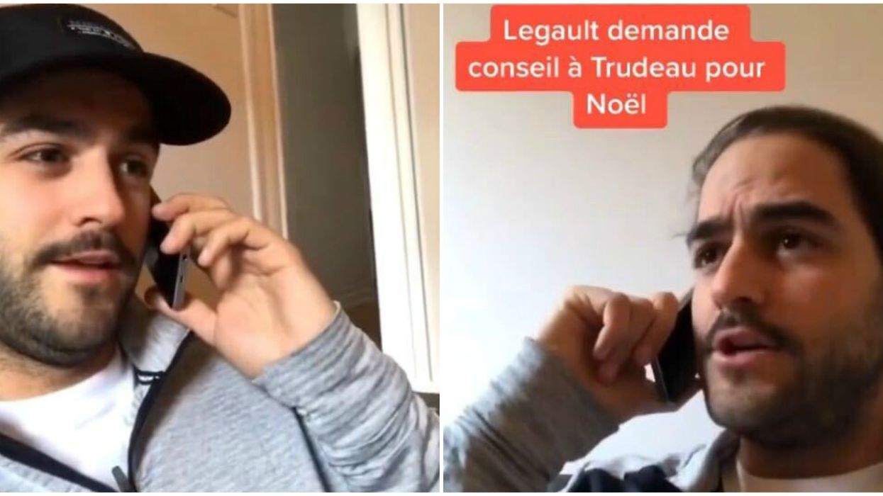This Quebecer NAILED Impressions Of Legault & Trudeau Coming Up With Holiday Rules (VIDEO)