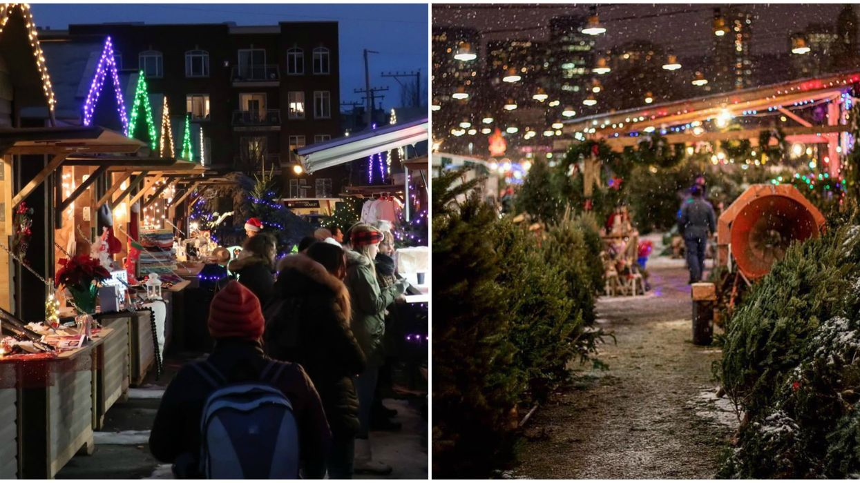 Montreal Is Getting 2 Christmas Markets & An Enchanted 'Winter Garden' This Year