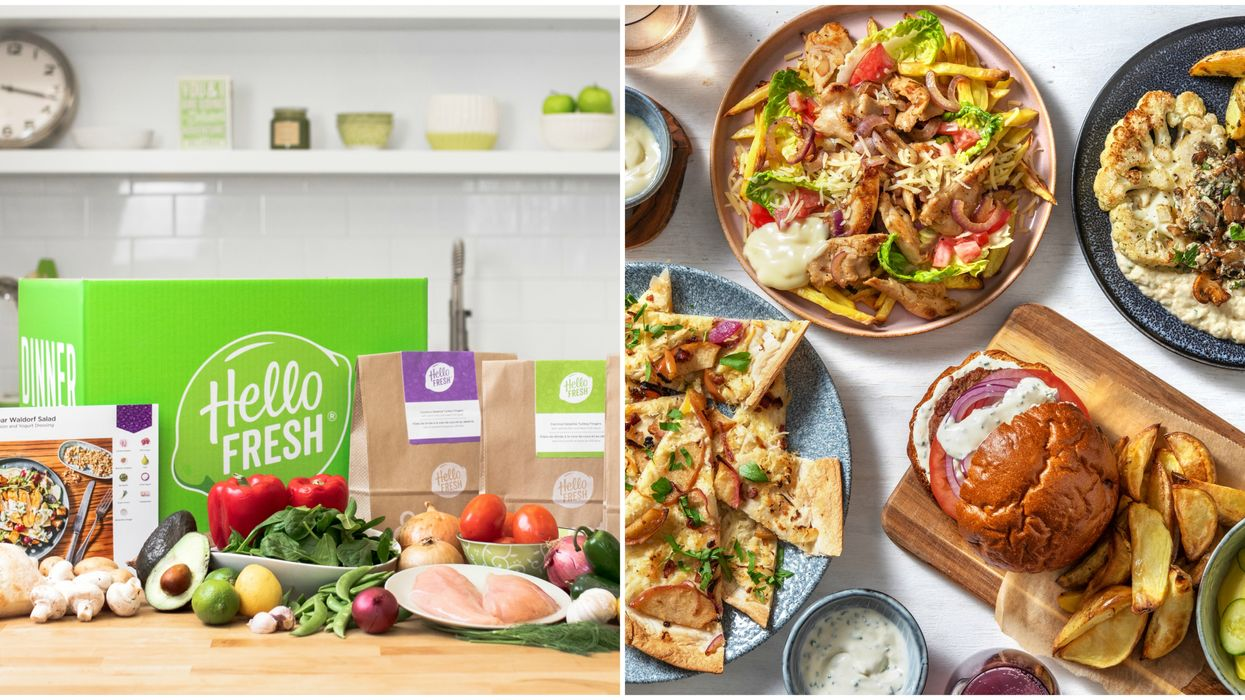 HelloFresh Canada Is Offering A Week's Worth Of Dinners For Less Than $8 Per Meal Right Now