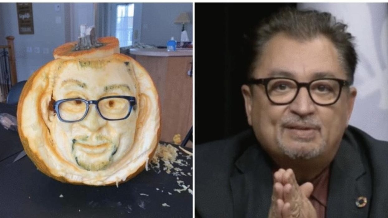 A Quebecer Made A Pumpkin Version Of Dr. Arruda & His Office Had No Comment