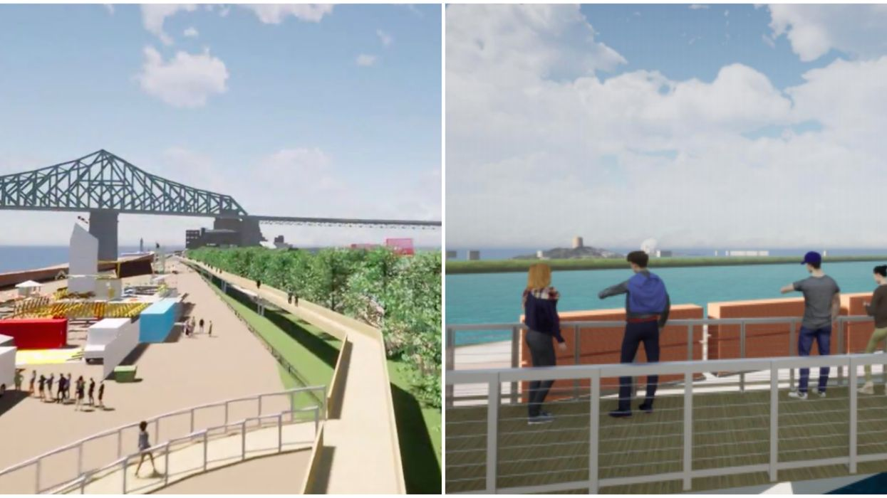 A Group Wants Montreal To Have Its Very Own 'High Line' Along The River (VIDEO)