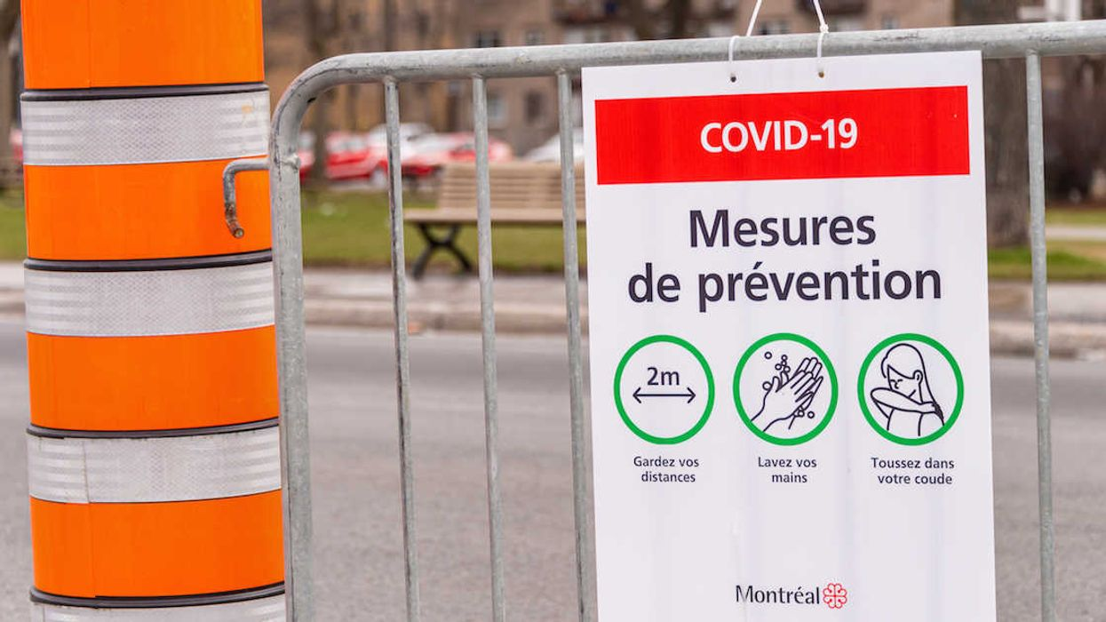Quebec's Total COVID-19 Case Count Has Officially Surpassed 100k