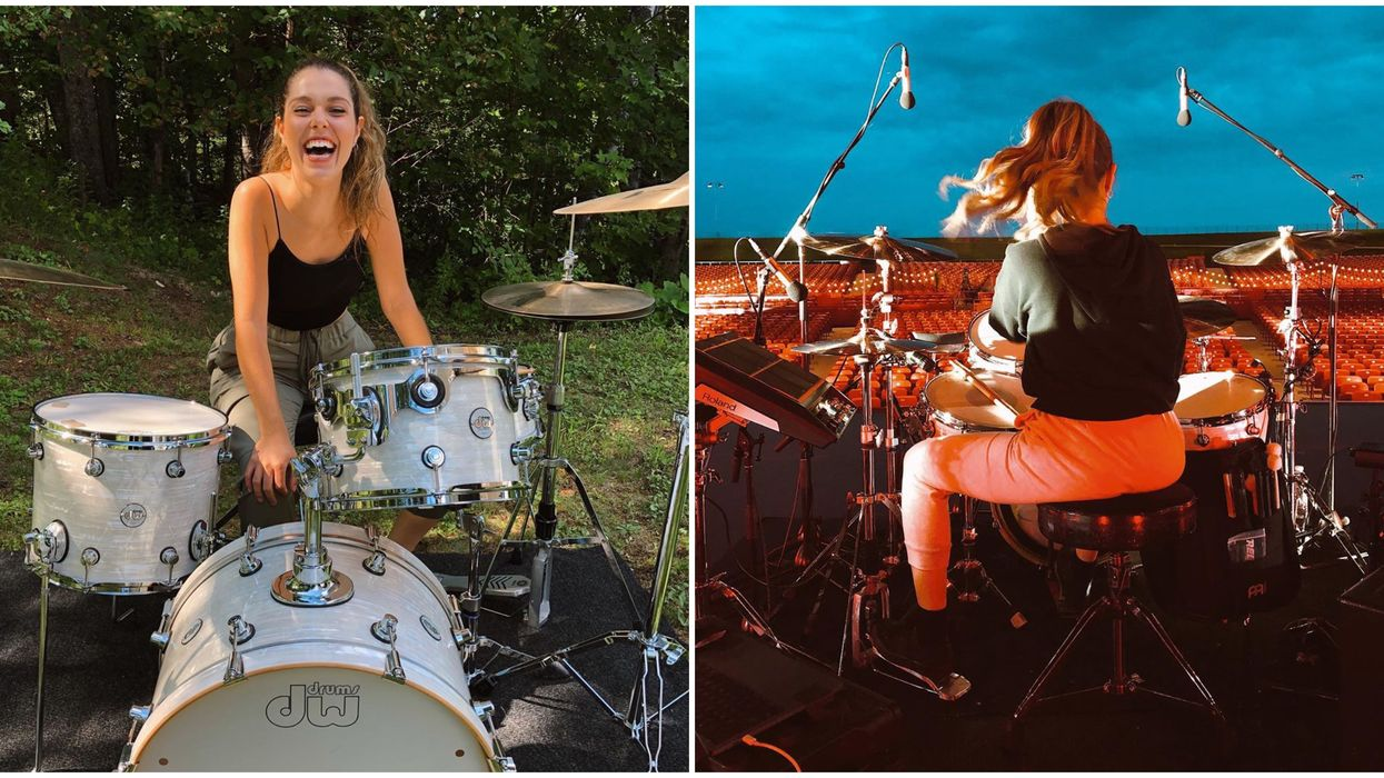 A Montreal Drummer With Thousands Of Followers Was Chosen To Be One Of TikTok's New Faces