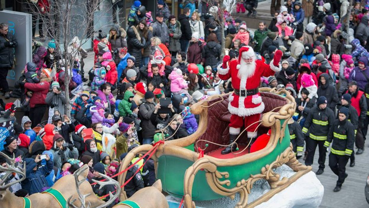 This Year's Montreal Santa Claus Parade Is Not Coming To Town