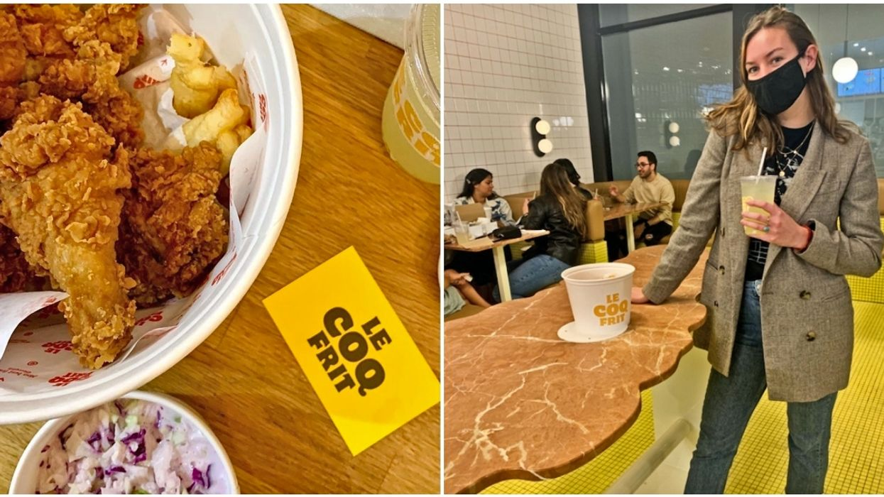 Rue Sainte-Catherine's Newest Fried Chicken Spot Is The Crispiest On The Block