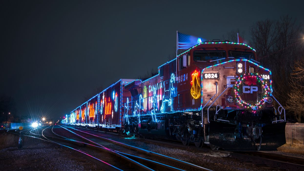 Canada's Festive Christmas Train Won't Be Passing Through Montreal This Year