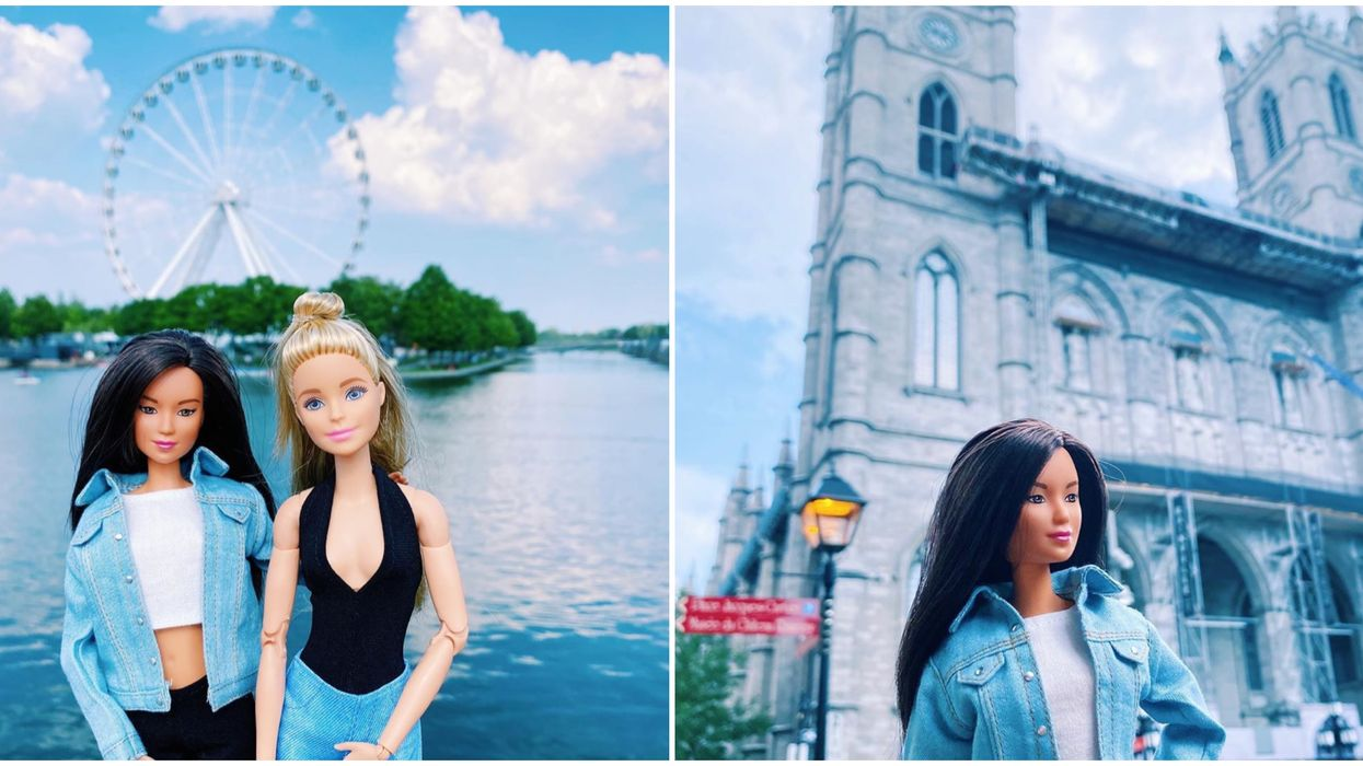 These Instagram Barbie Dolls LOVE To Travel & Montreal Is One Of Their Fav Spots (PHOTOS)