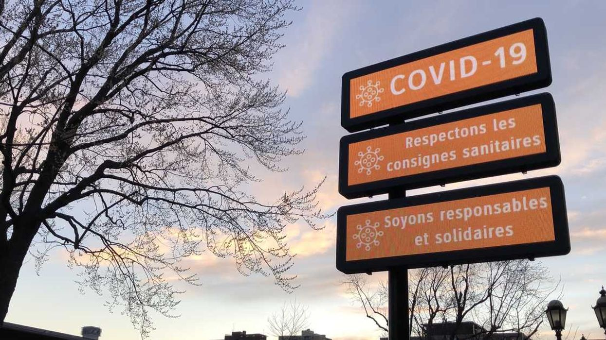 """Quebec's New COVID-19 Case Count Is Being Described As """"Under Control, Yet Concerning"""""""